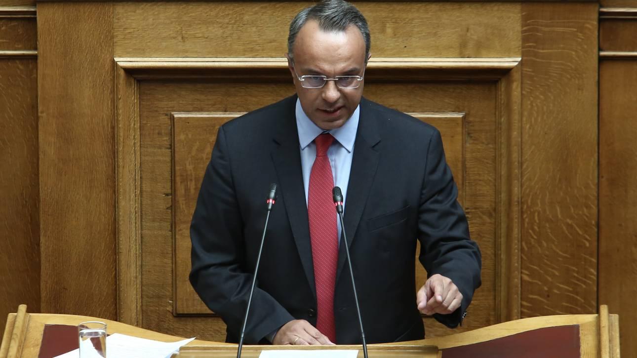 Σταϊκούρας: Η Ελλάδα αφήνει πίσω της μία μακρά περίοδο οικονομικής και πολιτικής αβεβαιότητας