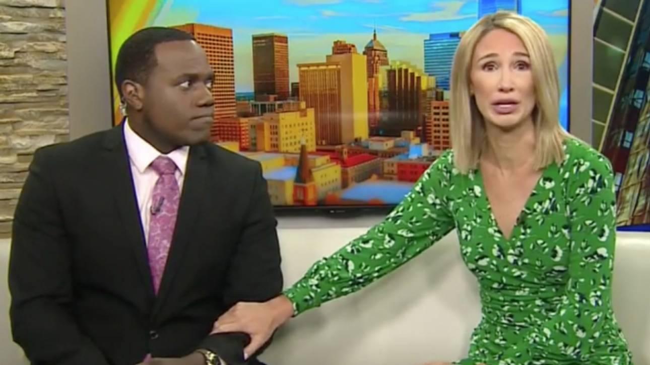 «Σου μοιάζει λίγο»: Συνέκρινε τον μαύρο συμπαρουσιαστή της με γορίλα