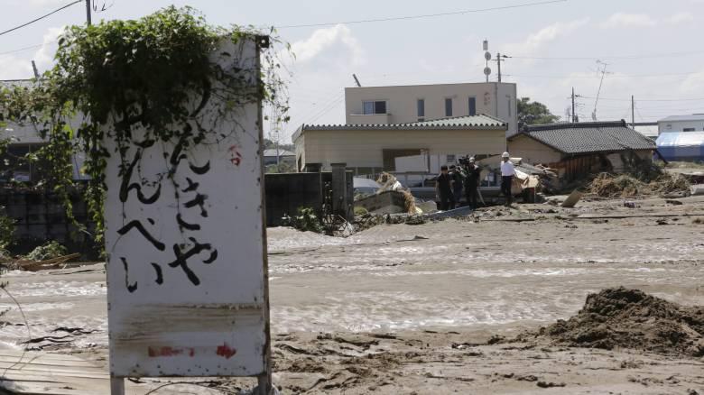 Ιαπωνία: Νεκροί, χάος και εκατοντάδες χιλιάδες εκκενώσεις λόγω των κατακλυσμιαίων βροχοπτώσεων