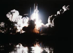 1983, Κέιπ Κανάβεραλ. Η εντυπωσιακή απογείωση του διαστημικού λεωφορείου, το οποίο φεύγει για μια αποστολή έξι ημερών στο διάστημα.