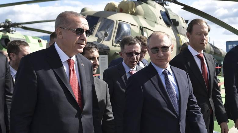 «Γιατί, όχι;»: Ο Ερντογάν αφήνει ανοιχτό το ενδεχόμενο αγοράς ρωσικών Su-35 και Su-57