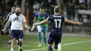 ΠΑΟΚ-Σλόβαν Μπρατισλάβας: Το γκολ του Μεντβέντεφ που «πάγωσε» την Τούμπα