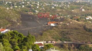 Κατασβέστηκε η πυρκαγιά στην Πεντέλη