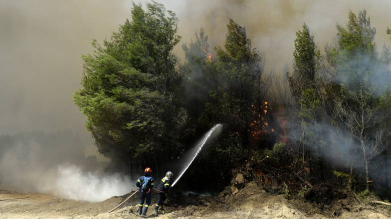 Υψηλός ο κίνδυνος πυρκαγιάς για σήμερα
