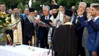 Ορκίστηκε Δήμαρχος Αγίας Παρασκευής ο Βασίλης Ζορμπάς