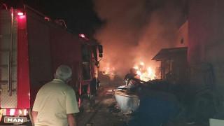 Μεγάλη φωτιά στις κτηριακές εγκαταστάσεις του ΦΟΔΣΑ Ζακύνθου