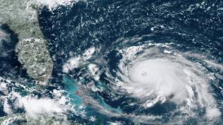 Τυφώνας Ντόριαν: Ενισχύθηκε σε κατηγορία 5 - Αναμένεται να «χτυπήσει» τις Μπαχάμες