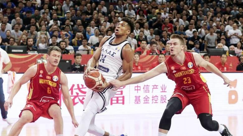 Μουντομπάσκετ 2019: Η Εθνική Ελλάδας «διέλυσε» το Μαυροβούνιο στην πρεμιέρα της