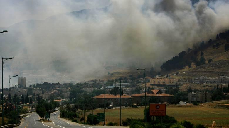 Πυραυλική επίθεση του Ισραήλ κατά χωριού στον Λίβανο