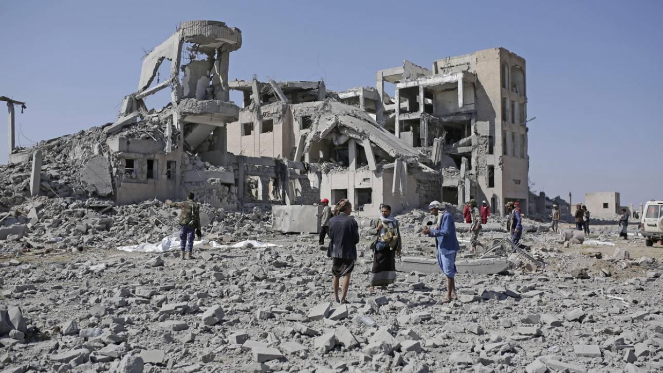 Υεμένη: Περισσότεροι από 100 νεκροί σε αεροπορικό βομβαρδισμό φυλακής