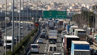 Τροχαίο στην Εθνική Οδό Αθηνών- Λαμίας - Ουρές χιλιομέτρων