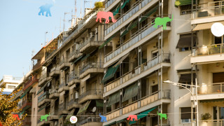 Η Θεσσαλονίκη «πλημμύρισε» με... χρωματιστούς ελέφαντες
