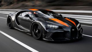 H Bugatti Chiron πέτυχε νέο ρεκόρ ταχύτητας με 490,484 χλμ./ ώρα!