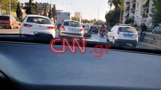 Τροχαίο στην Αθηνών - Λαμίας: Αυξημένη η κίνηση