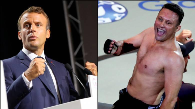 «Θα σε πιάσω από τον λαιμό»: Βραζιλιάνος πρέσβης και αθλητής του MMA τα «βάζει» με τον Μακρόν