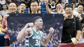 Μανία για τον Αντετοκούνμπο στην Κίνα: Πληρώνουν 1.000 δολάρια με την ελπίδα να τον δουν