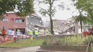 Έκρηξη λόγω διαρροής αερίου στην Αμβέρσα – Κατέρρευσαν τρία σπίτια