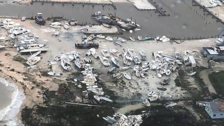 Εικόνες ολέθρου στις Μπαχάμες μετά το φονικό πέρασμα του τυφώνα Ντόριαν
