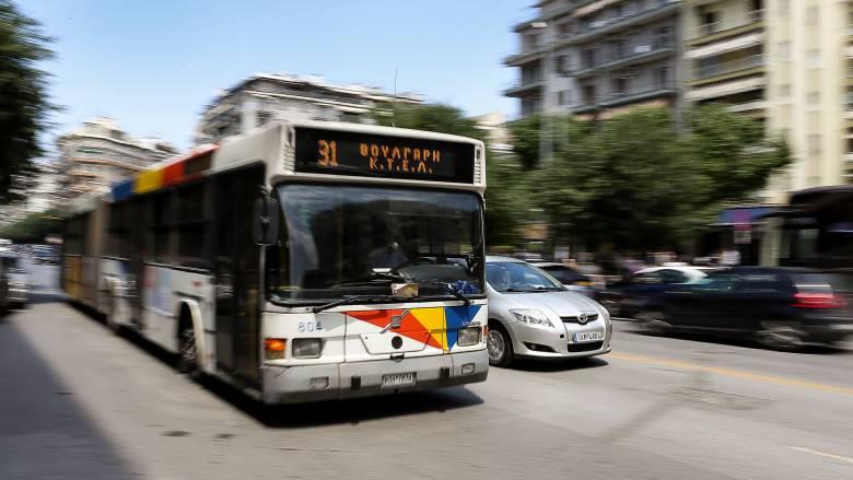 Θεσσαλονίκη: Καραμπόλα τριών Ι.Χ. με λεωφορείο - Δύο τραυματίες