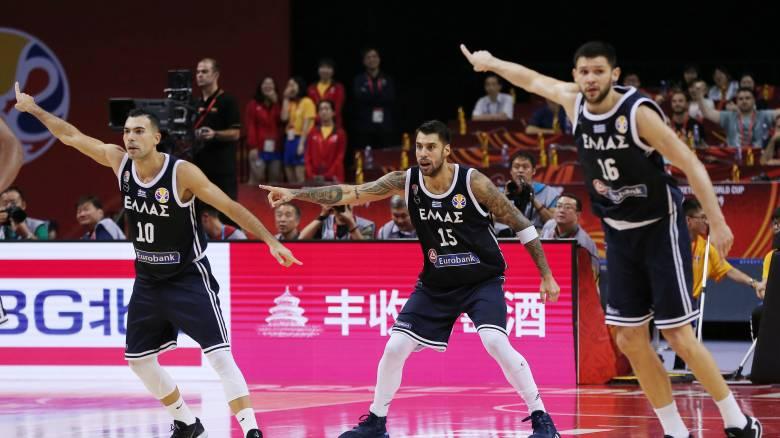 Μουντομπάσκετ 2019: Τα σενάρια για την πρόκριση της Εθνικής στην 8αδα