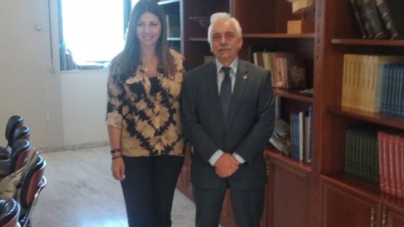 Συνάντηση Προέδρου Ε.Ε.Σ. με την Υφυπουργό Παιδείας και Θρησκευμάτων