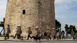 ΔΕΘ: «Φρούριο» η Θεσσαλονίκη με 3.300 αστυνομικούς - Οι εκκενώσεις καταλήψεων στο επίκεντρο της ΕΛΑΣ