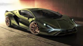 Η συλλεκτική Sian των 819 ίππων είναι η πρώτη εξηλεκτρισμένη Lamborghini