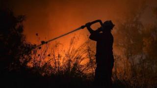 Φωτιά στη Νέα Μάκρη: Πυρκαγιά στην περιοχή Λιβίσι
