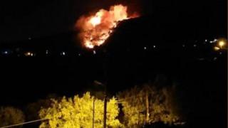 Φωτιά στη Νέα Μάκρη: Εναέρια μέσα στη μάχη με τις φλόγες - Δεν κινδυνεύει κατοικημένη περιοχή
