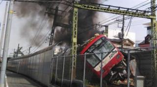 Ιαπωνία: Σύγκρουση τρένου με φορτηγό - Δεκάδες τραυματίες