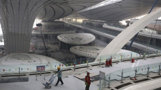 Κίνα: Σαν... διαστημόπλοιο το νέο αεροδρόμιο του Πεκίνου