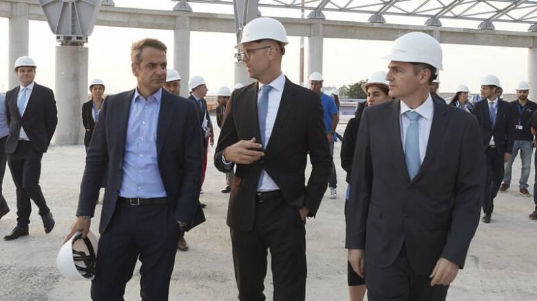 ΔΕΘ 2019: Στα έργα επέκτασης του αεροδρομίου «Μακεδονία» ο Μητσοτάκης
