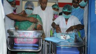 Δεν άντεξε τη χαρά και υπέστη εγκεφαλικό ο 82χρονος σύζυγος της 73χρονης που γέννησε δίδυμα