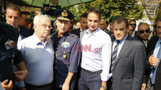 ΔΕΘ 2019 - Μητσοτάκης:Συνάντηση με τη διοίκηση της ΔΕΘ και το δώρο έκπληξη του δημάρχου Θεσσαλονίκης