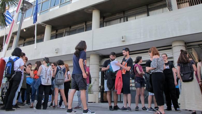ΔΕΘ 2019: Κατάληψη μέχρι την έναρξη της πορείας στην Πολυτεχνική Σχολή του ΑΠΘ