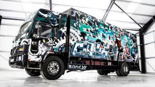 Η υπογραφή του Banksy εκτοξεύει την τιμή αυτού του ταλαίπωρου φορτηγού