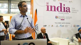 Επίσκεψη του Κ. Μητσοτάκη στο περίπτερο της Ινδίας, τιμώμενης χώρας της ΔΕΘ