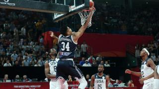 Μουντομπάσκετ 2019: Καρέ-καρέ το πρώτο ημίχρονο του ΗΠΑ-Ελλάδα