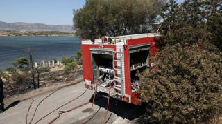 Φωτιά στην περιοχή Πηγάδια Αιτωλοακαρνανίας