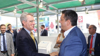 ΔΕΘ 2019: Επίσκεψη Πάιατ στο περίπτερο της Περιφέρειας Κεντρικής Μακεδονίας