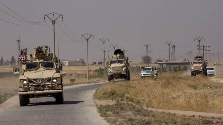 Εγκαθίδρυση «ζώνης ασφαλείας» στη Συρία με κοινές περιπολίες ΗΠΑ - Τουρκίας