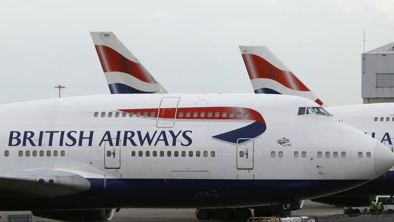 Καθηλωμένες οι πτήσεις της British Airways: Ταλαιπωρία για χιλιάδες ταξιδιώτες