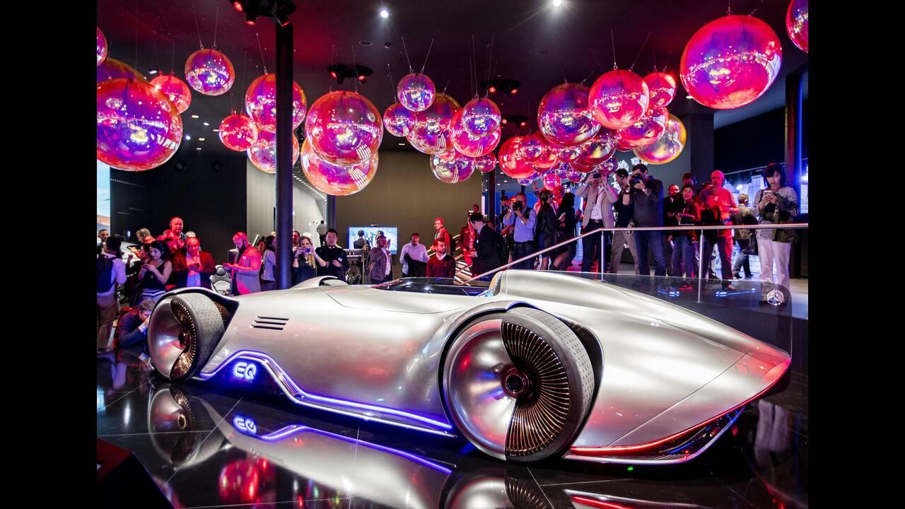 """Mercedes concept car """"EQ Silver Arrow"""""""