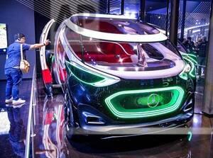 "Mercedes concept car ""Vision Urbanatic"""