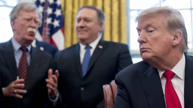 ΗΠΑ: Ο Τραμπ απέλυσε τον σύμβουλο εθνικής ασφάλειας, Τζον Μπόλτον