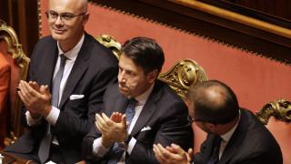 Ιταλία: Έλαβε την ψήφο εμπιστοσύνης από τη Γερουσία η κυβέρνηση Κόντε