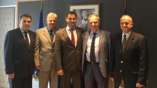 Συνάντηση Θεοχάρη με τον πρόεδρο της Ένωσης Εφοπλιστών Κρουαζιέρας, κ. Θόδωρο Κόντε