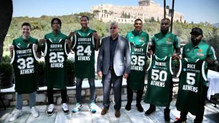 Παναθηναϊκός ΟΠΑΠ: Με φόντο την Ακρόπολη η παρουσίαση των νέων παικτών