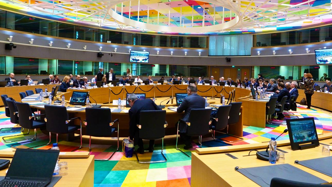 Ενημέρωση του Eurogroup για τις ελληνικές στοχεύσεις