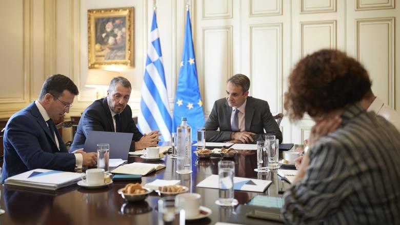 Συνάντηση Μητσοτάκη με τη διοίκηση του ΤΑΙΠΕΔ: Τι συζητήθηκε